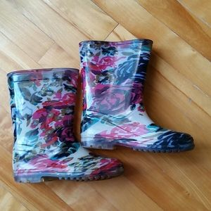 Rain boots for girls size 13